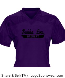Youth Girls Overtime Football Fan Jersey Design Zoom